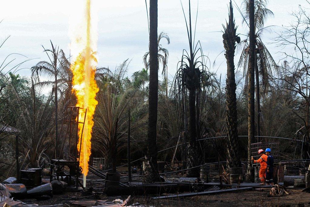 Tersangka Kebakaran Sumur Minyak di Aceh Bertambah