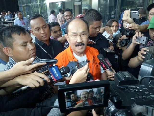 KPK Pindahkan Fredrich ke Rutan Cipinang