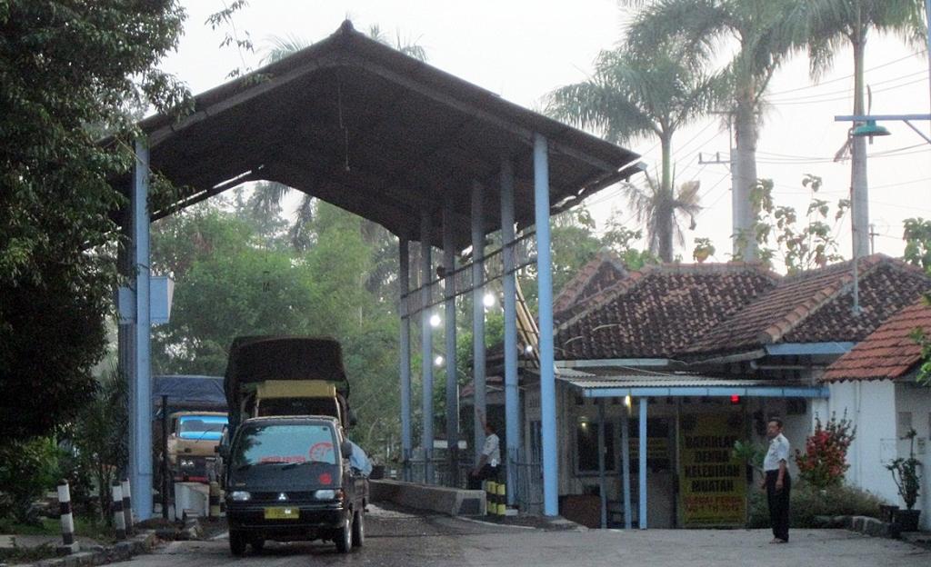 141 Jembatan Timbang Menjadi <i>Rest Area</i>