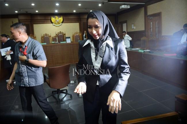 Pengusaha Mengaku Membeli Perusahaan Satf Rita Widyasari