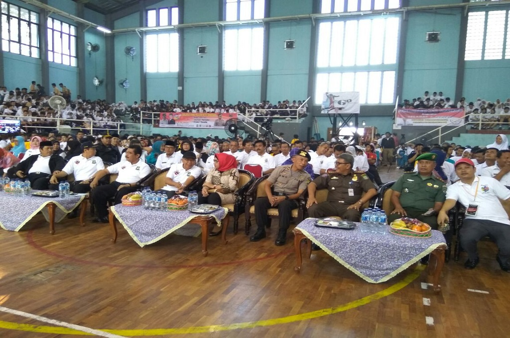 Ratusan Siswa Gelar Refleksi Deklarasi Damai di Tangerang