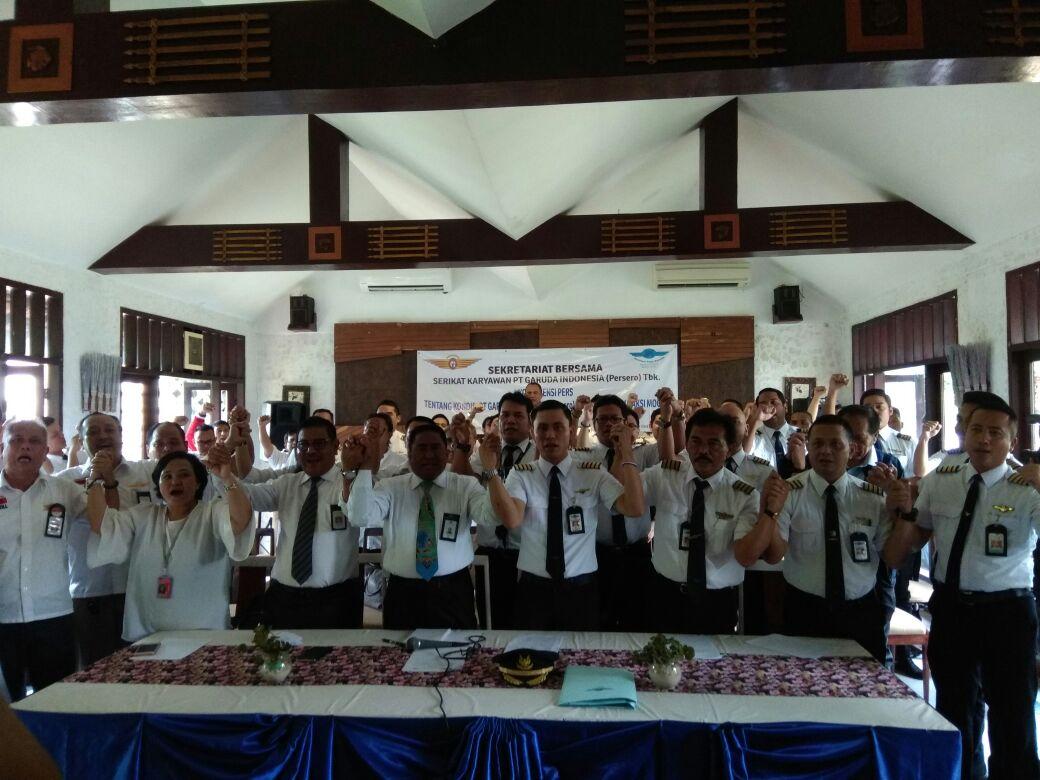 Pilot dan Karyawan Desak Perombakan Direksi Garuda Indonesia