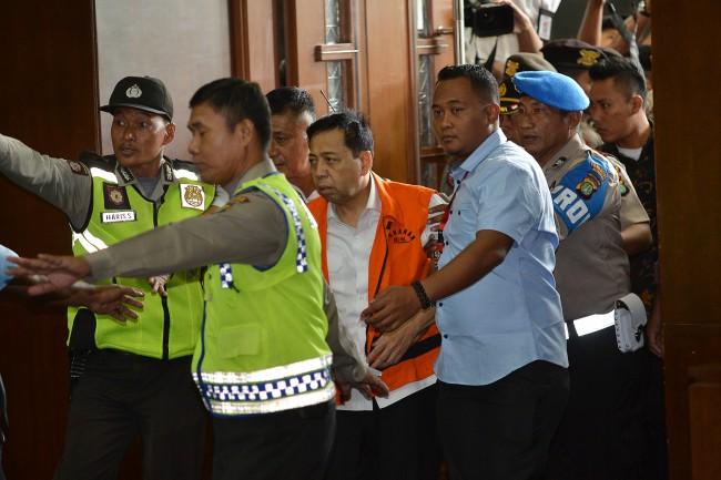 KPK Diminta Jerat Novanto dengan Pasal Pencucian Uang