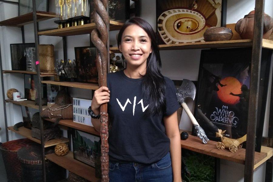 Ruth Marini Ungkap Kerumitan Karakter Sinto Gendeng di Film Wiro Sableng