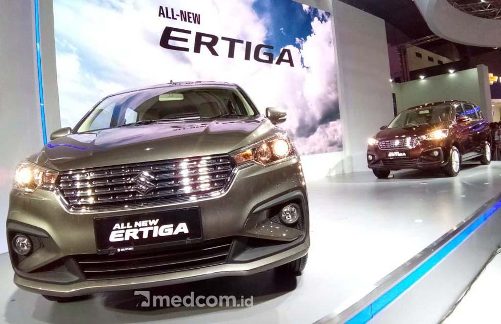 Suzuki Enggan 'Paksa' Ertiga jadi <i>Crossover</i>