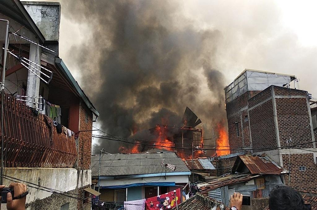 Tabung Elpiji Meledak, 26 Rumah Terbakar
