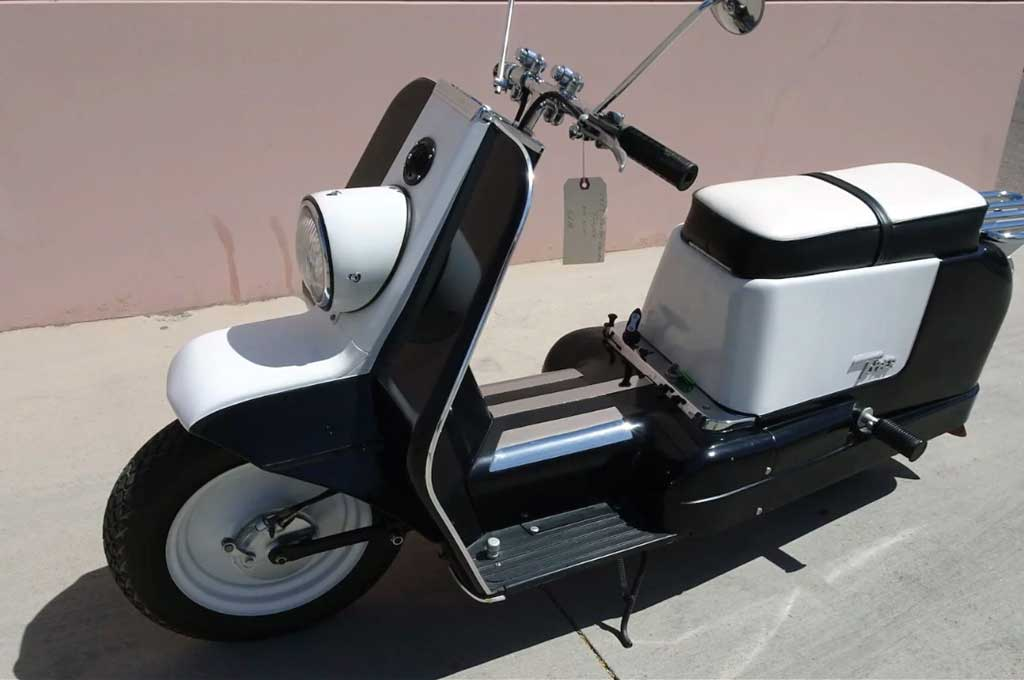 Topper 1963, Skuter Listrik Buatan Harley-Davidson