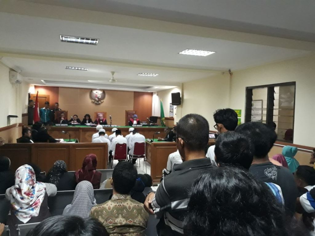 Terdakwa Kasus Pembakar Zoya Divonis 7 hingga 8 Tahun