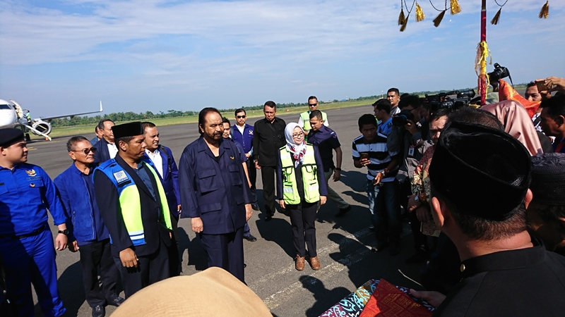 Surya Paloh Mulai Konsolidasi NasDem di Pulau Sumatra