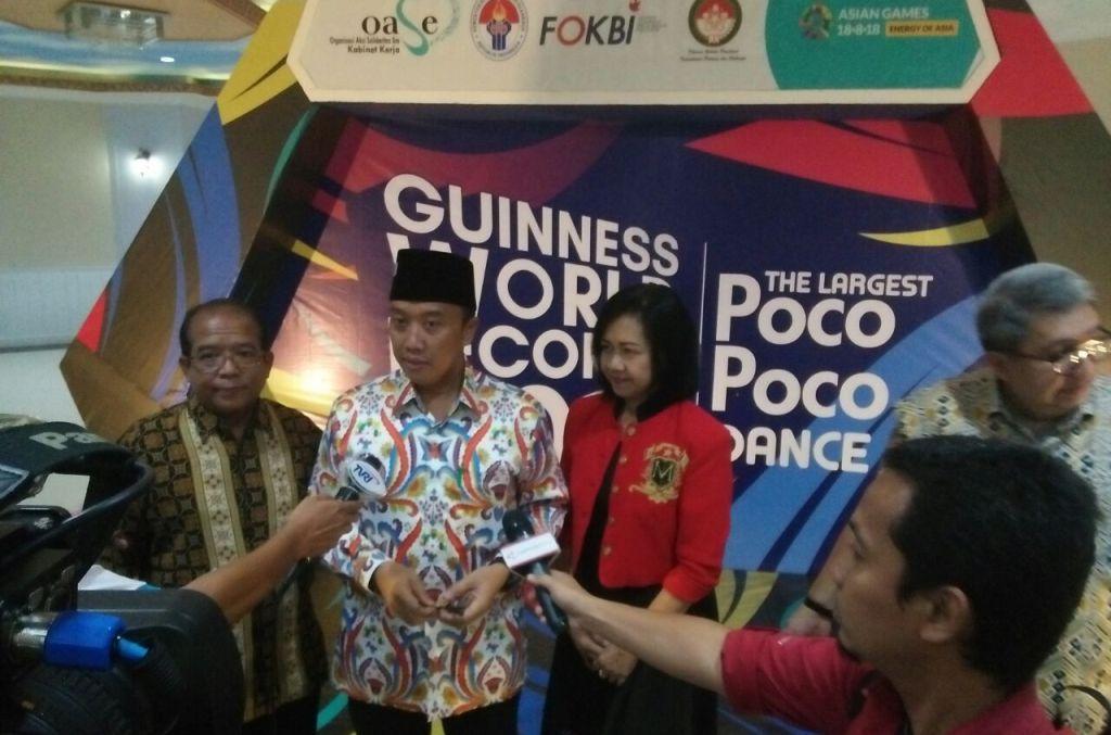 Pemecahan Rekor Dunia Poco-Poco Jadi Pembuka Kemeriahan Asian Games  2018