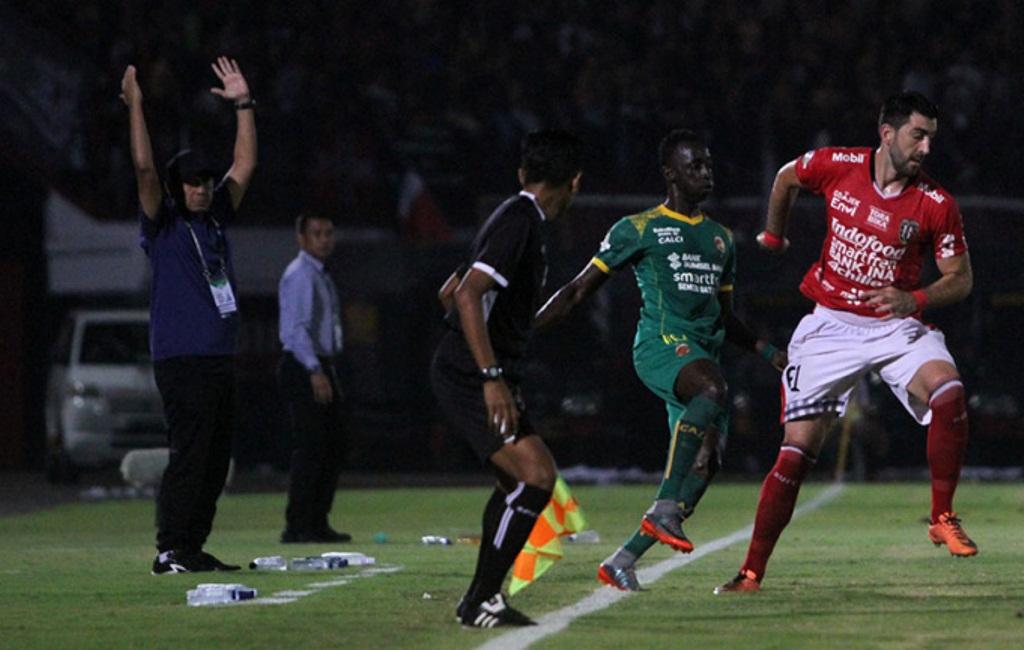 Laga Berlangsung Sengit, Sriwijaya Tundukkan Bali United