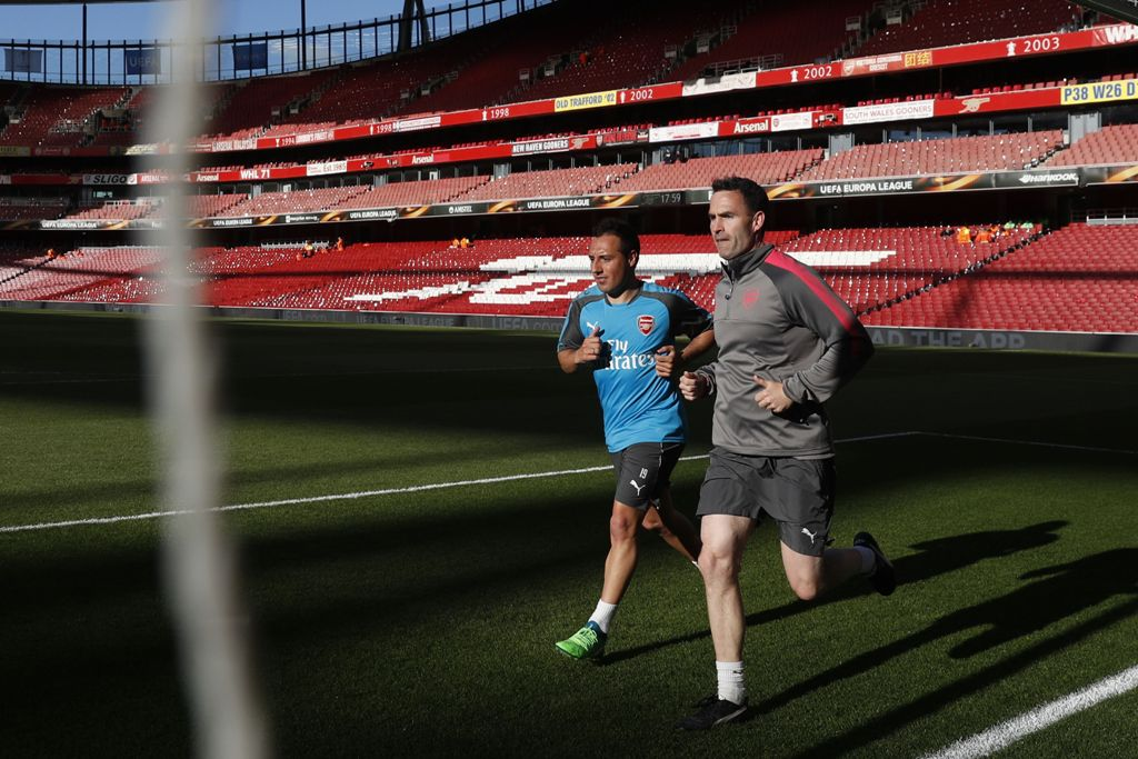 Santi Cazorla Kembali Berlatih dengan Skuat Utama Arsenal