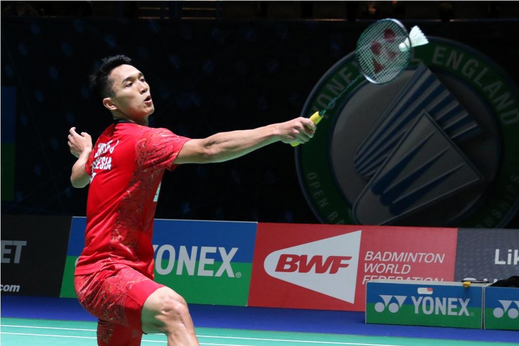 Jonatan Christie Ditumbangkan Lin Dan di Final