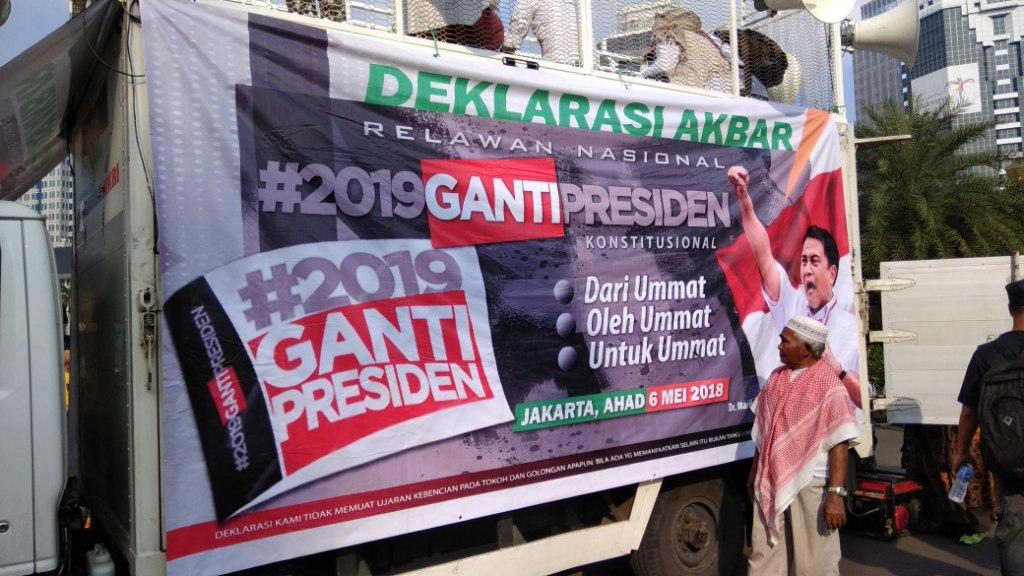 Deklarasi Akbar #2019GantiPresiden Habiskan Dana Rp40 Juta
