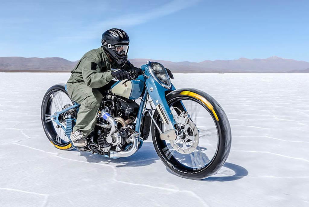Cheetah, Sosok Harley-Davidson Berkomponen Turbo