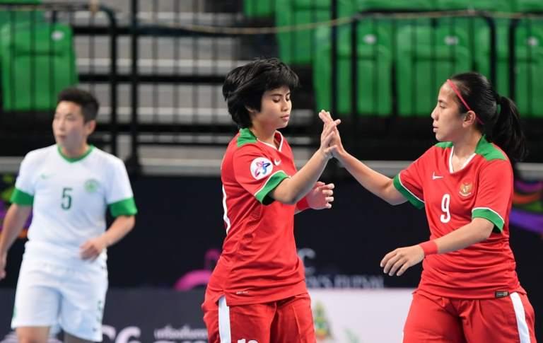 Ke Perempat Final, Timnas Futsal Putri Indonesia Tantang Vietnam