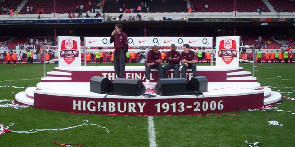 2006: <i>Good Bye</i>, Highbury!