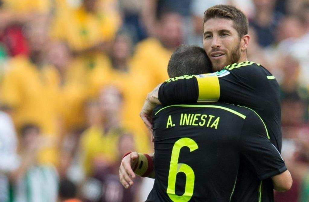Usai El Clasico, Ramos Susul Iniesta ke Tiongkok?
