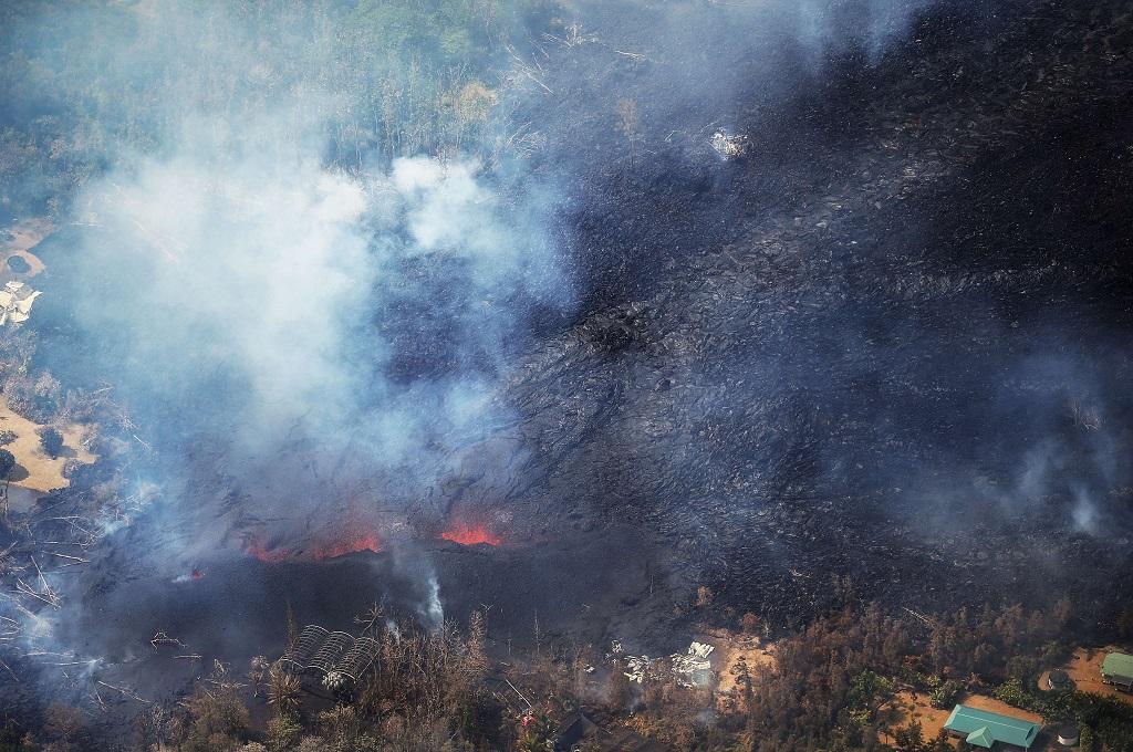 Jumlah Rumah yang Terkena Lava Kilauea Terus Bertambah