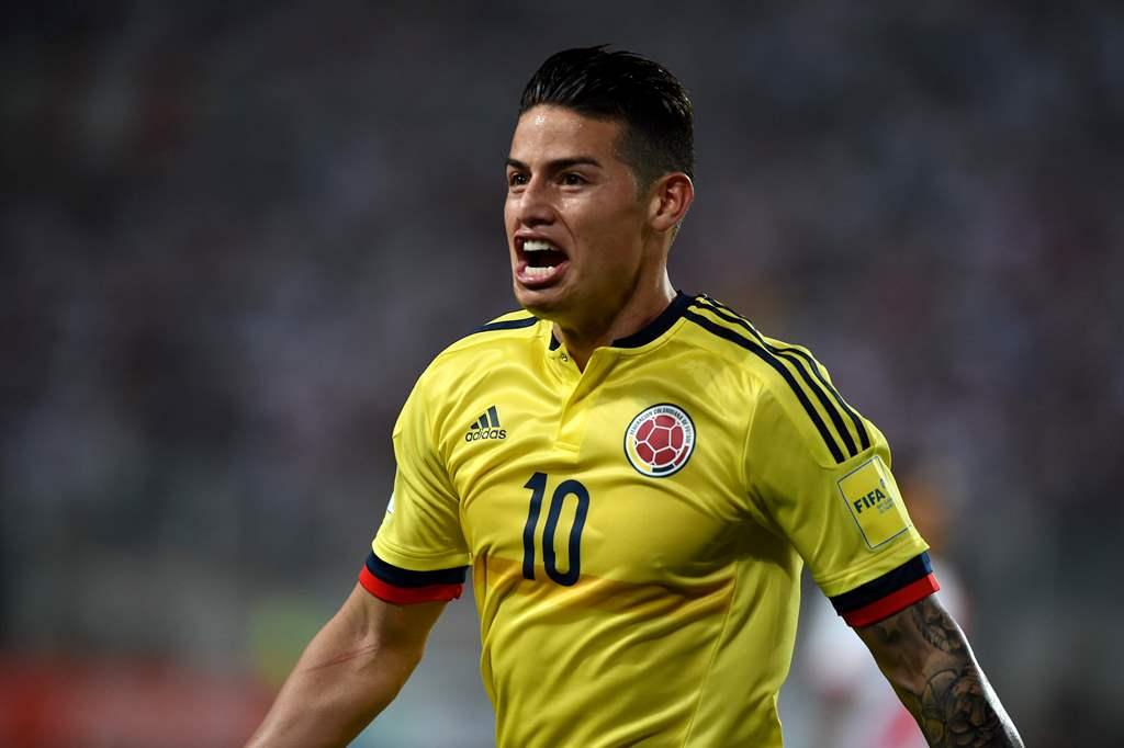 James Rodrigues Pasang Target Tinggi di Piala Dunia 2018