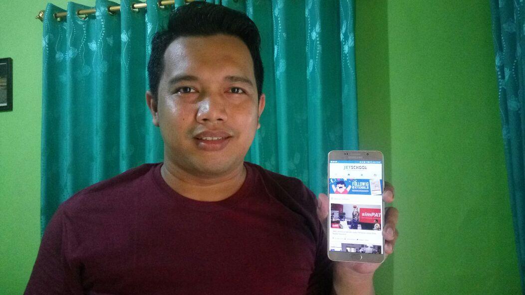Keren! Guru Madrasah Ciptakan Aplikasi Anti Bolos