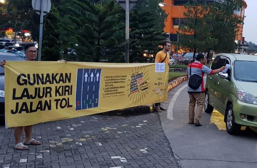 ALTIC Kampanye Penggunaan Jalur Kiri