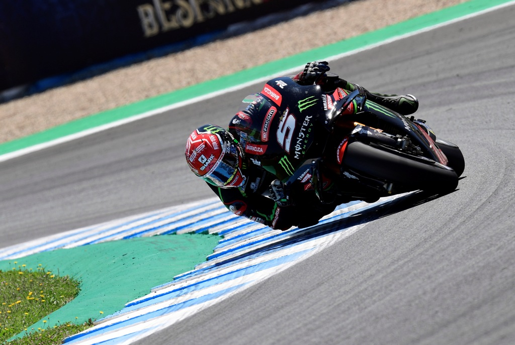 Johann Zarco Tercepat pada Tes Resmi di Jerez