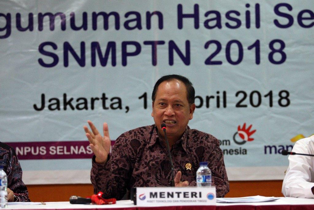 Menteri Nasir Ancam Pidanakan Joki SBMPTN