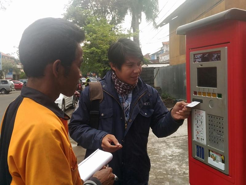 Mesin Parkir di Bandung Diklaim Dongkrak Retribusi