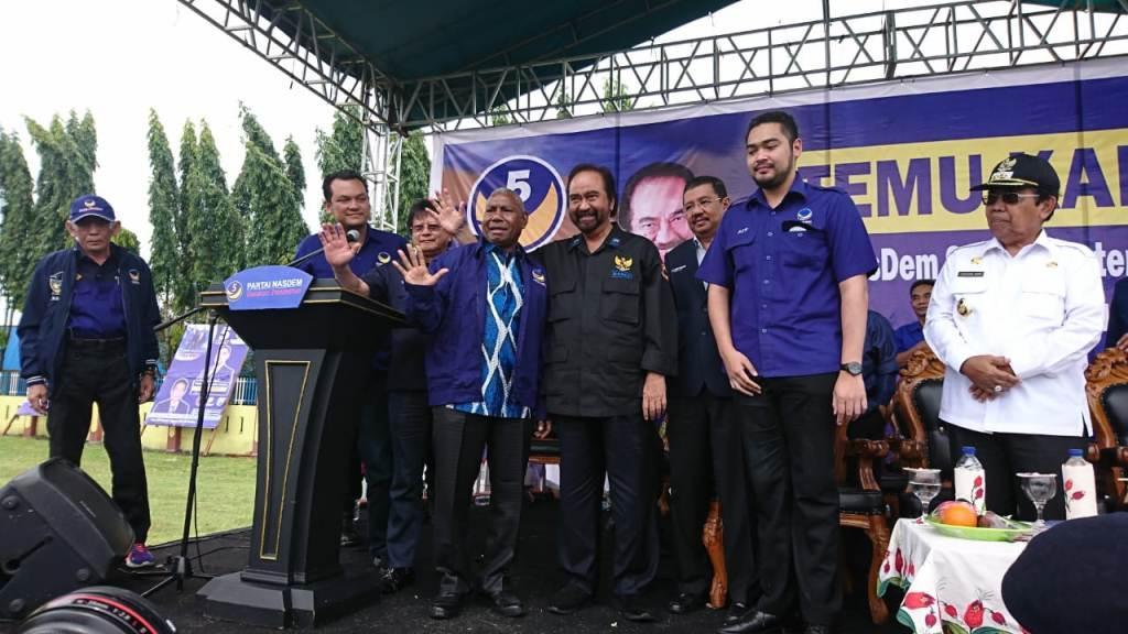 Gubernur Papua Barat Masuk NasDem