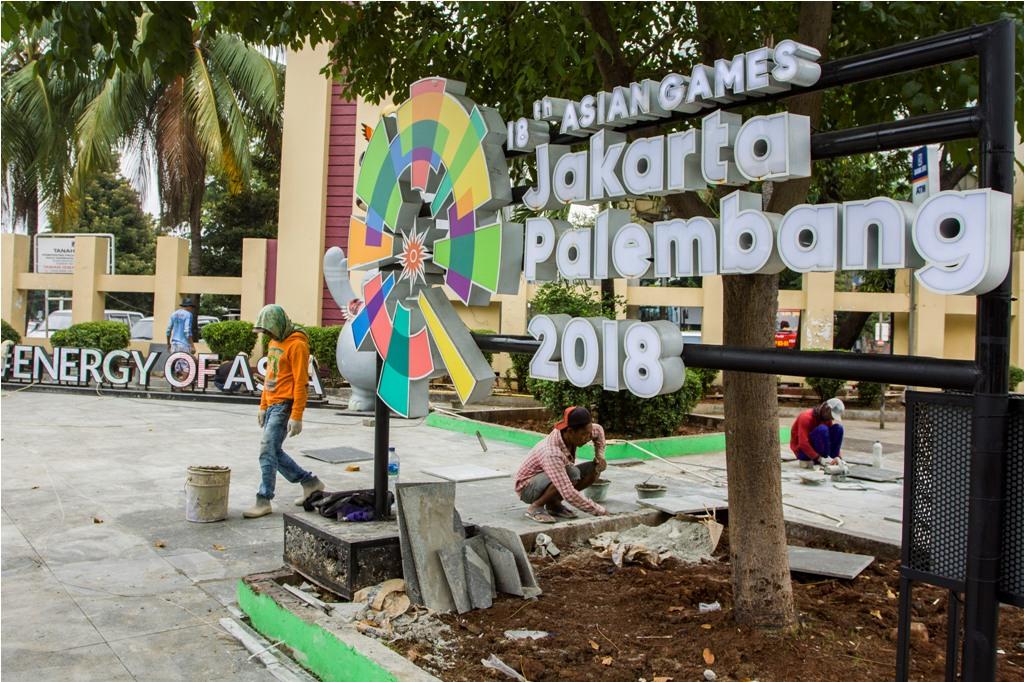 Logo Asian Games 2018 akan Direvisi