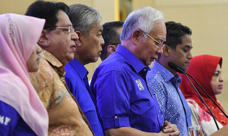 PM Najib Razak Akui Kekalahan dalam Pemilu Malaysia