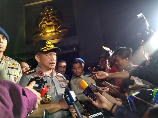 Kapolri Bantu Keluarga Polisi yang Gugur