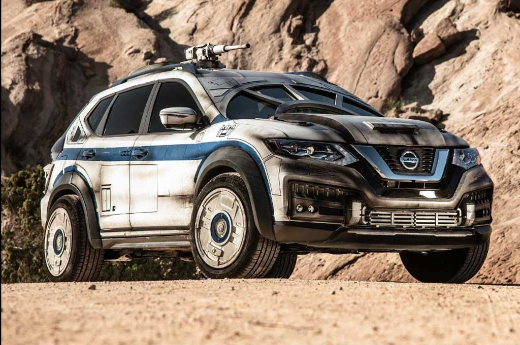 Tampilan Sangar Nissan Rogue Star Wars Millenium Falcon
