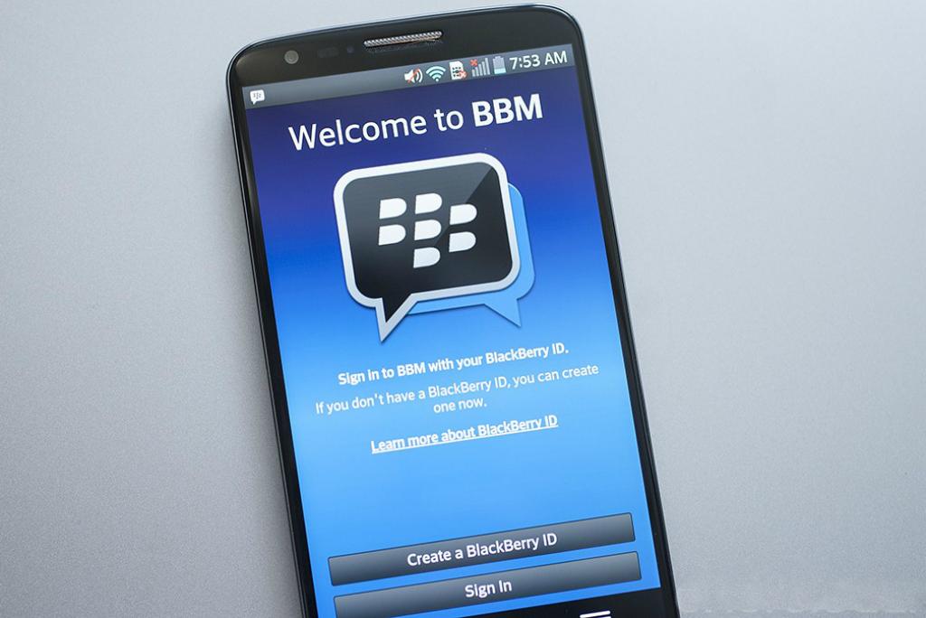 BlackBerry Umumkan Layanan BBM Desktop Beta Pertama