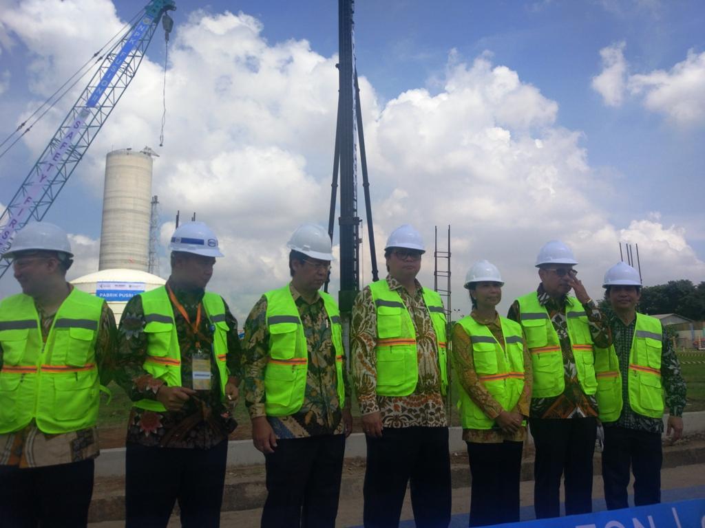 Proyek NPK 2,4 Juta, Pupuk Indonesia <i>Groundbreaking</i> Pabrik Fusion Pusri