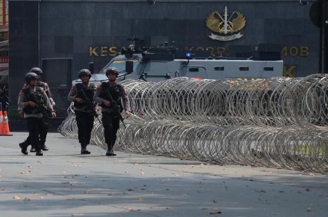 Polisi Tembak Dua Terduga Teroris di Bekasi