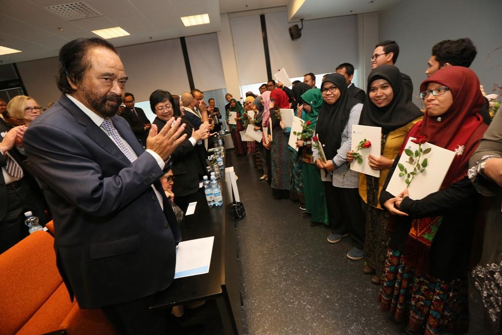 Surya Paloh Bakal Wisuda Ratusan Siswa Sekolah Sukma Bangsa