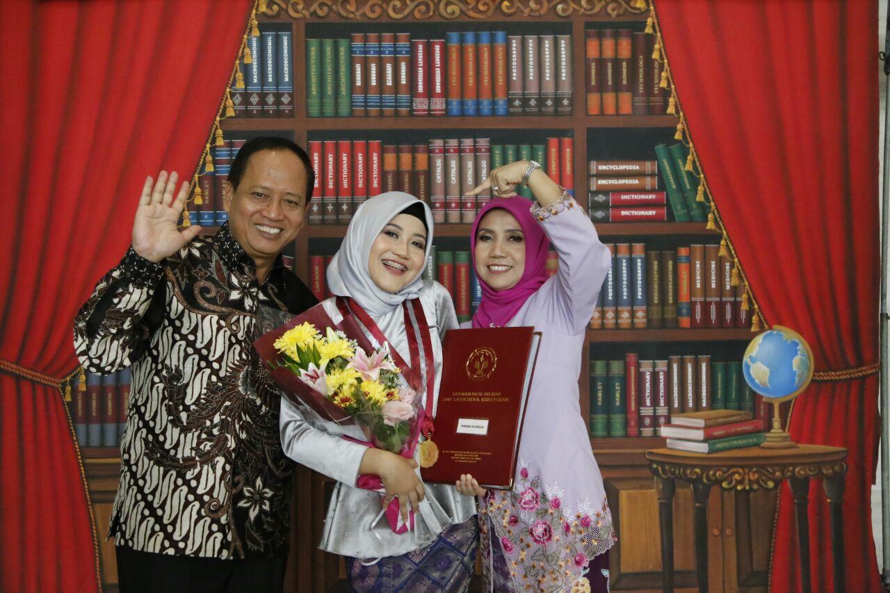 Putri Ketiga Menristekdikti Toreh Prestasi di USBN 2018