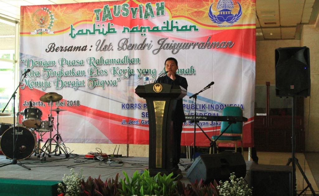Staf DPD Diminta Lakukan Refleksi Kinerja