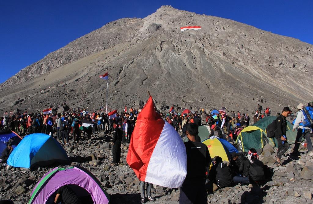 Jalur Pendakian Merapi Masih Ditutup