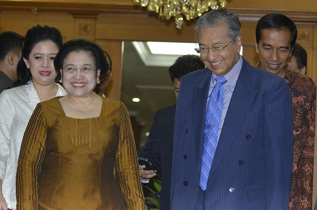 Megawati Ucapkan Selamat atas Kemenangan Mahathir Mohamad