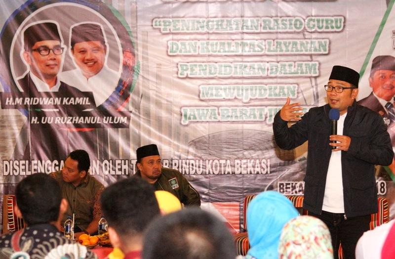 'Rindu' Targetkan Raup 51 Persen Suara di Karawang