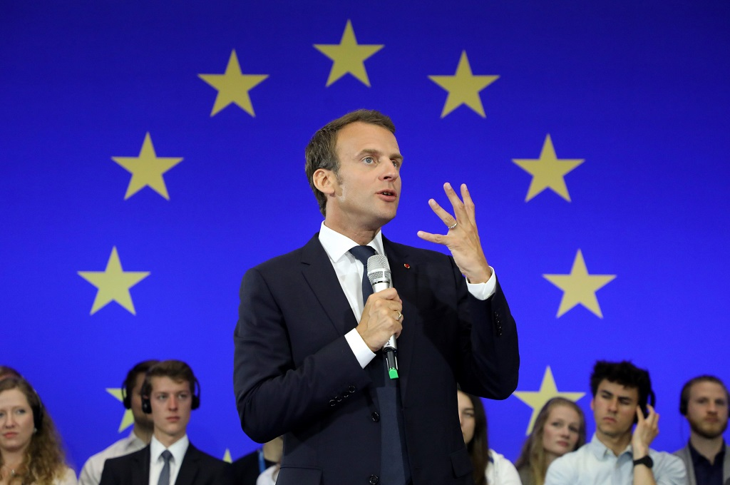 Macron Sebut Darah kembali Tumpah di Prancis