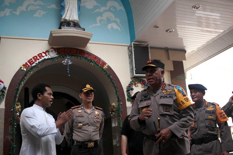Polda Sumut Tingkatkan Keamanan Gereja Pasca Ledakan di Surabaya