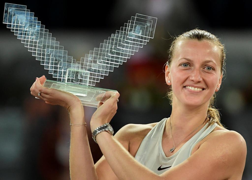 Petra Kvitova Ukir Sejarah Baru Lewat Madrid Open