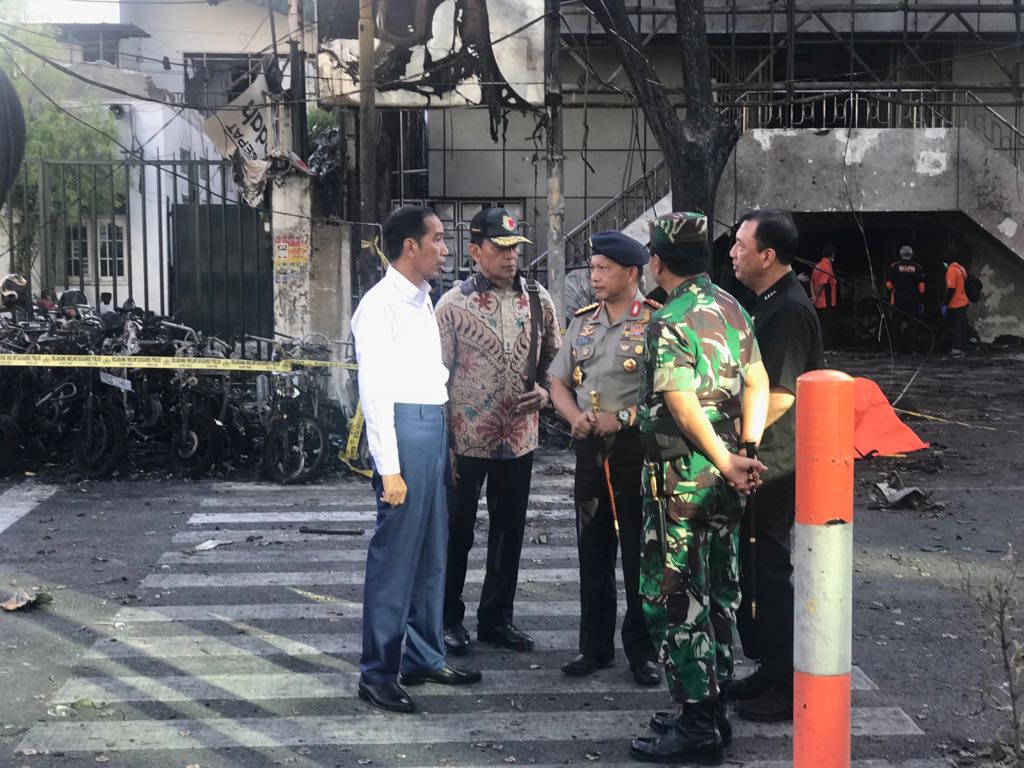 Jokowi Tegaskan Negara tak Membiarkan Tindakan Pengecut