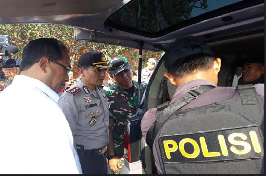 Menhub Sidak Keamanan di Bandara Soekarno Hatta