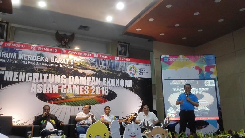 Asian Games Diharapkan Mendorong Pertumbuhan Ekonomi