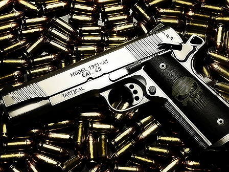 Senjata Milik Terduga Teroris di Cianjur Disita